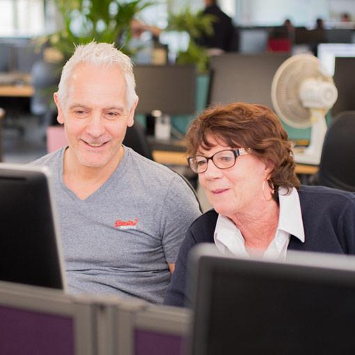 Delt Shared Services IT Service Management Button