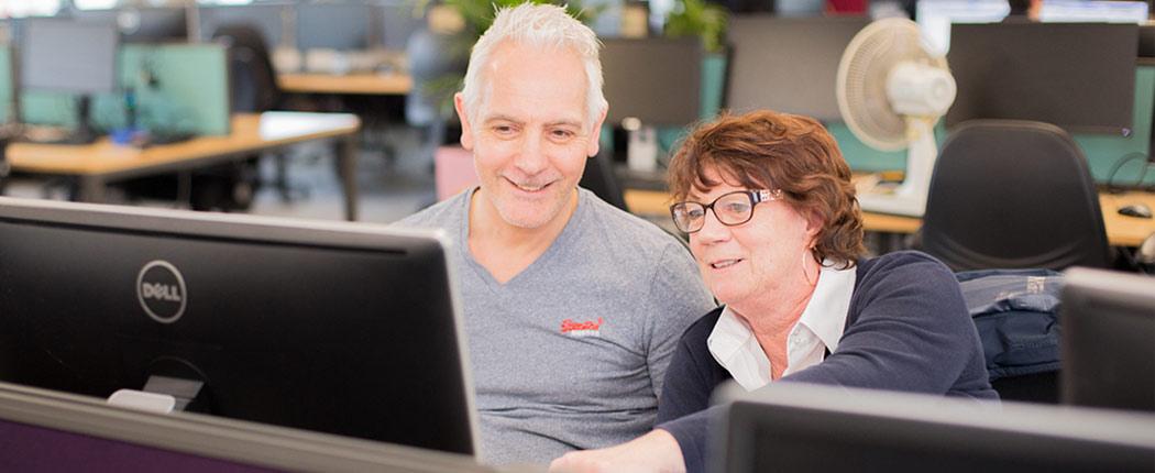 Delt Shared Services Team Header Image