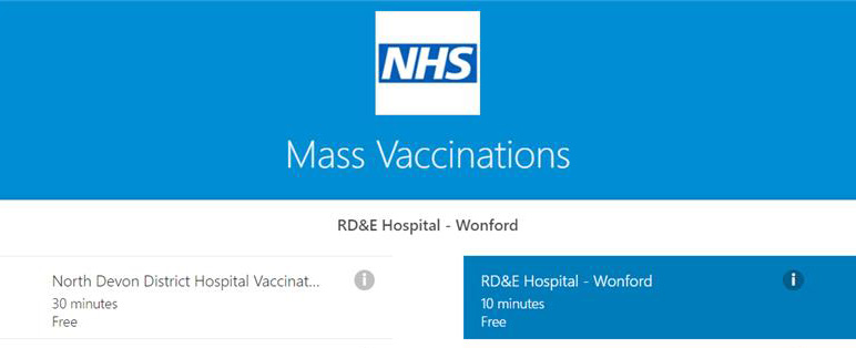COVID 19 Vaccination Booking Application