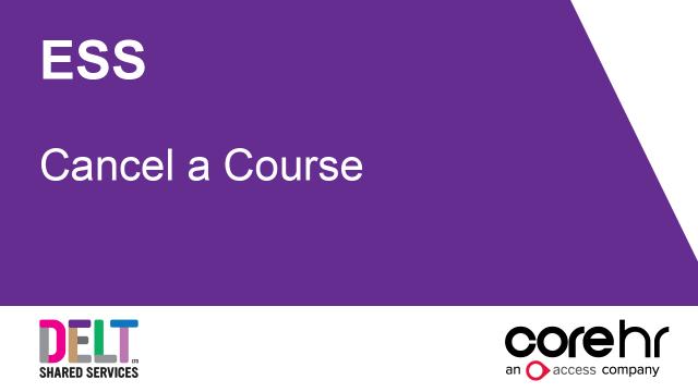 ESS_Cancel_a_Course