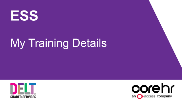ESS_Training_Details