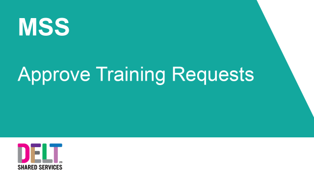 MSS_Approve_Training_Requests