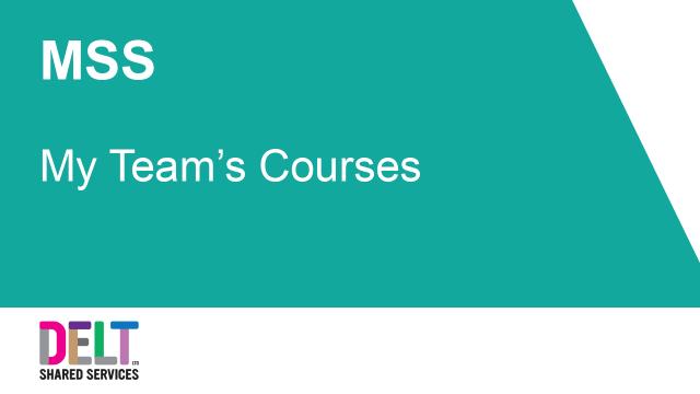 MSS_My_Teams_Courses